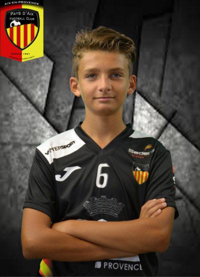Football PAFC Nolan Esposito
